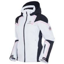 Rossignol Diamond Jacket - Waterproof, Insulated (For Women) in White - Closeouts