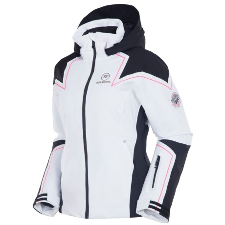 Rossignol Diamond Jacket - Waterproof, Insulated (For Women) in White