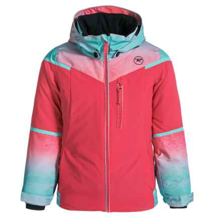 Rossignol Dizzy Ski Jacket - Insulated (For Big Girls) in Very Pink - Closeouts