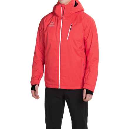 Rossignol Elite Ski Jacket - Waterproof, Insulated (For Men) in Blaze Red - Closeouts