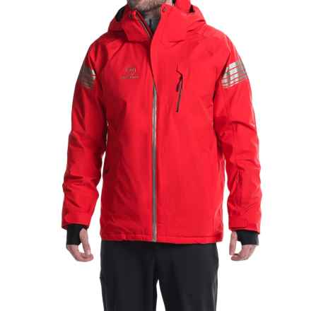 Rossignol Experience 2 Thinsulate® Ski Jacket - Waterproof, Insulated (For Men) in Red/Stripes - Closeouts