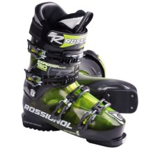 Rossignol Experience Sensor2 120 Alpine Ski Boots (For Men and Women) in Green/Transparent - Closeouts