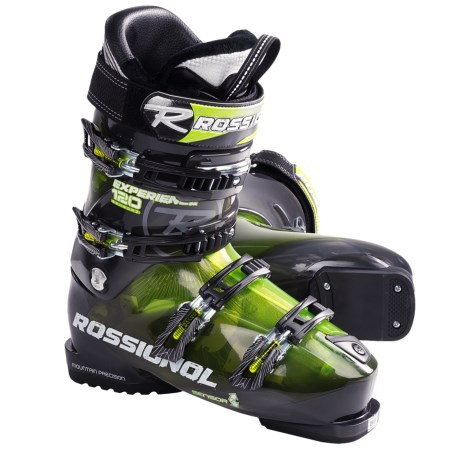 Rossignol Experience Sensor2 120 Alpine Ski Boots (For Men and Women) in Green/Transparent