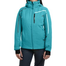 Rossignol Fairy Heather Ski Jacket - Waterproof, Insulated (For Women) in Azurite - Closeouts