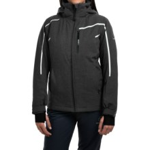 Rossignol Fairy Heather Ski Jacket - Waterproof, Insulated (For Women) in Black - Closeouts