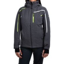 Rossignol Fairy Heather Ski Jacket - Waterproof, Insulated (For Women) in Cold Grey - Closeouts