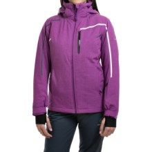 Rossignol Fairy Heather Ski Jacket - Waterproof, Insulated (For Women) in Deep Orchid - Closeouts