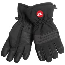 Rossignol Glacier Gloves - Waterproof, Insulated (For Men) in Black - Closeouts