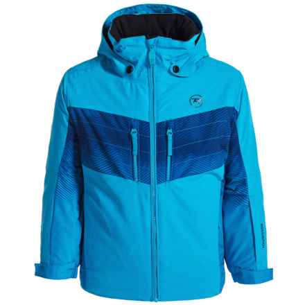 Rossignol Gravity Ski Jacket - Insulated (For Big Boys) in Iceblue - Closeouts