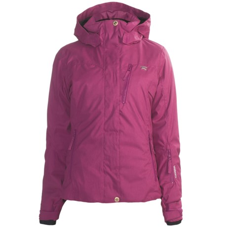 Rossignol Heat Jacket - Insulated (For Women) in Fuchsia