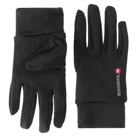 Rossignol iTip Fleece Gloves - Touchscreen Compatible (For Men) in Black - Closeouts