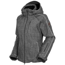 Rossignol Kelly Heather Jacket - Waterproof, Insulated (For Women) in Heather Grey