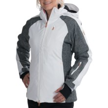 Rossignol Kelly Stretch Jacket - Waterproof, Insulated (For Women) in White - Closeouts