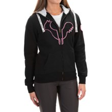 Rossignol Ladybird Hoodie - Full Zip (For Women) in Black - Closeouts