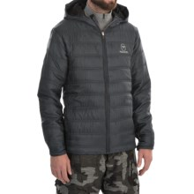 Rossignol Light Loft Hooded Jacket - Insulated (For Men) in Black - Closeouts