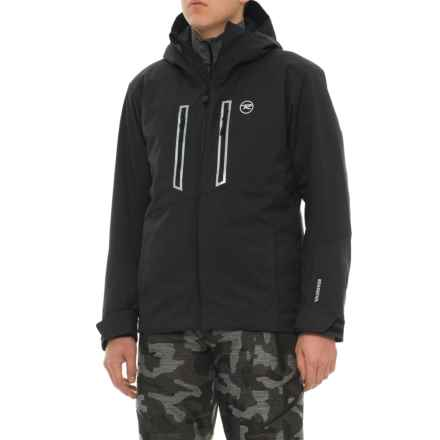 Rossignol Lightning Plain Ski Jacket - Waterproof, Insulated (For Men) in Black - Closeouts