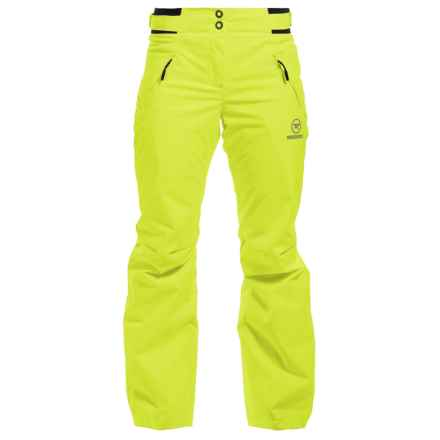 Rossignol Magic Ski Pants - Waterproof, Insulated (For Women) in Punch Lime - Closeouts
