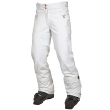 Rossignol Marilyn Stretch Ski Pants - Waterproof, Insulated (For Women) in White - Closeouts