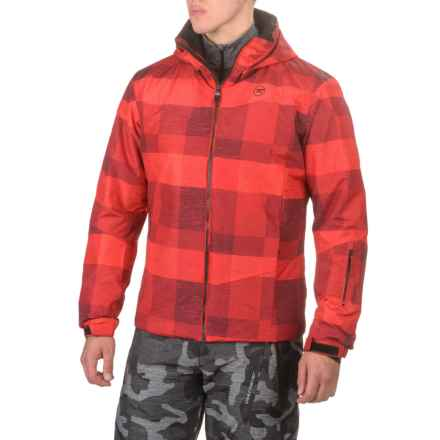 Rossignol Matrix Ski Jacket - Waterproof, Insulated (For Men) in Tartan Red - Closeouts