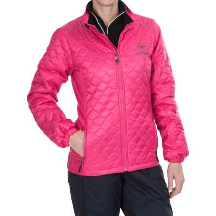 Rossignol Mythic Ski Jacket (For Women) in Berrypink - Closeouts