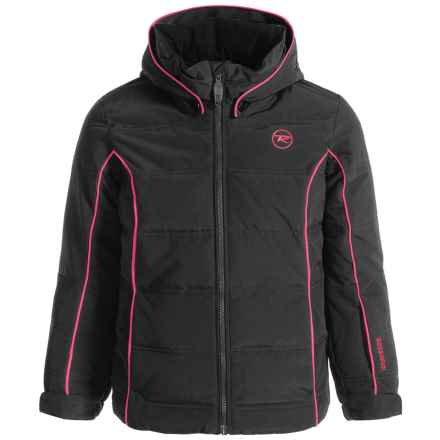 Rossignol Polydown Ski Jacket - Waterproof, Insulated (For Big Girls) in Black - Closeouts