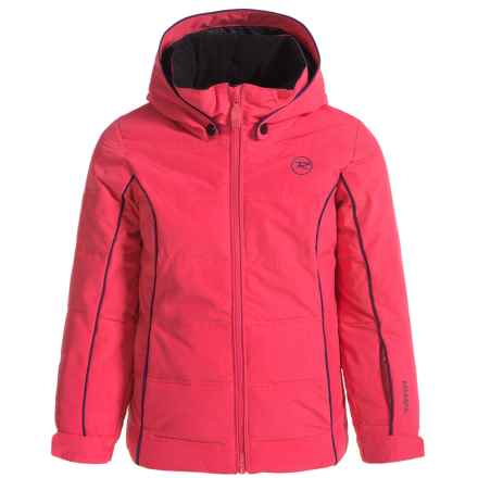 Rossignol Polydown Ski Jacket - Waterproof, Insulated (For Big Girls) in Very Pink - Closeouts