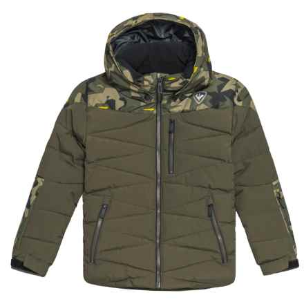 Rossignol Polydown Ski Jacket - Waterproof, Insulated (For Boys) in Military Green - Closeouts