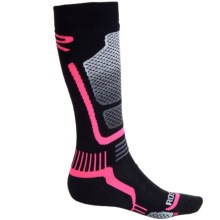 Rossignol Premium Wool Socks - Over-the-Calf (For Women) in Fluo Pink - Closeouts
