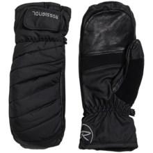 Rossignol Puff PrimaLoft® Mittens - Waterproof, Insulated (For Men) in Black - Closeouts