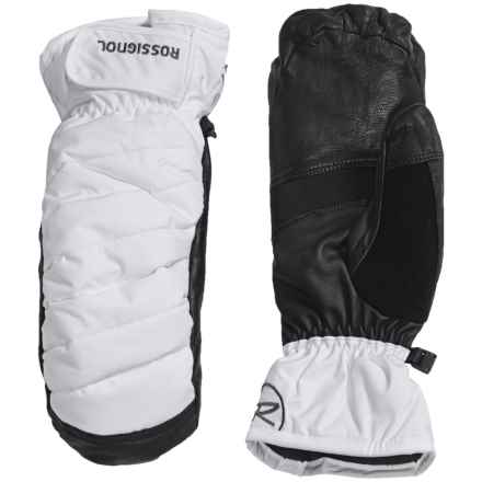 Rossignol Puff PrimaLoft® Mittens - Waterproof, Insulated (For Men) in Silver - Closeouts