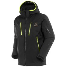 Rossignol Racing Soft Shell Ski Jacket - Waterproof, Insulated (For Men) in Black - Closeouts