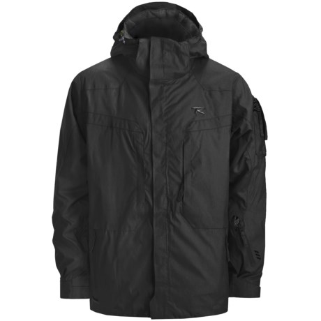 Rossignol Raptor Ski Jacket - Insulated (For Men) in Black