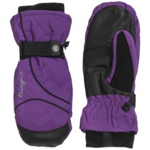 Rossignol Round Two PrimaLoft® Mittens - Waterproof, Insulated (For Women) in Black/Purple - Closeouts