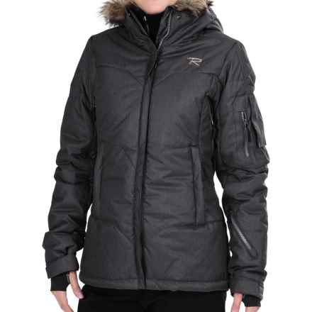 Rossignol Sky Down Ski Jacket - Insulated (For Women) in Black - Closeouts