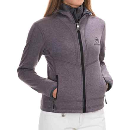 Rossignol Sparkle Fleece Jacket (For Women) in Black - Closeouts