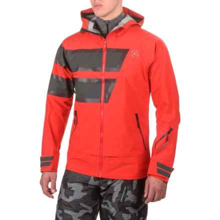 Rossignol Spectre 3L Ski Jacket - Waterproof (For Men) in Blaze Red - Closeouts