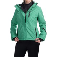 Rossignol Twila Ski Jacket - Insulated (For Women) in Maze Pogoda Print - Closeouts