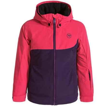 Rossignol Twist Ski Jacket - Insulated (For Big Girls) in Majesty - Closeouts
