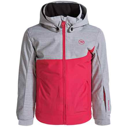 Rossignol Twist Ski Jacket - Insulated (For Big Girls) in Very Pink - Closeouts