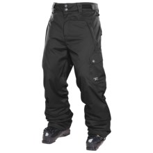 Rossignol Typhoon Snow Pants - Insulated (For Men) in Black - Closeouts