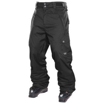 Rossignol Typhoon Snow Pants - Insulated (For Men) in Black