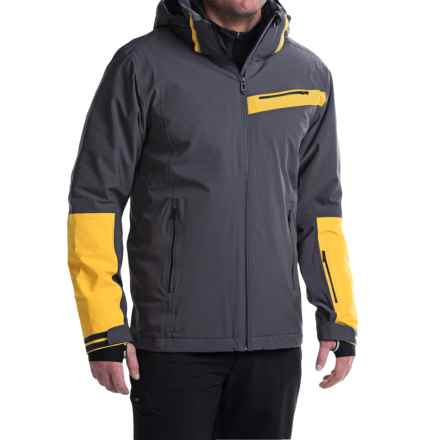 Rossignol Vantage Stretch Dual-Layer Ski Jacket - Waterproof, Insulated (For Men) in Anthra - Closeouts