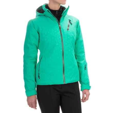Rossignol Vela Flame Ski Jacket - Waterproof, Insulated (For Women) in Pagoda - Closeouts