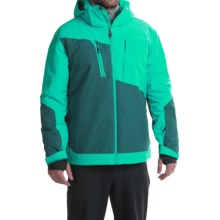Rossignol Vigor Ski Jacket - Waterproof, Insulated (For Men) in Deep Mint - Closeouts