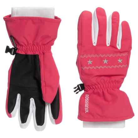 Rossignol Viky Imp'R Gloves - Waterproof, Insulated (For Big Girls) in Lollipop - Closeouts