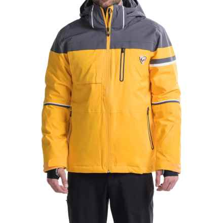 Rossignol Virage Ski Jacket - Waterproof, Insulated (For Men) in Sunrise - Closeouts