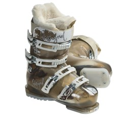 Rossignol Vita Sensor2 90 Ski Boots (For Women) in Brown Transparent