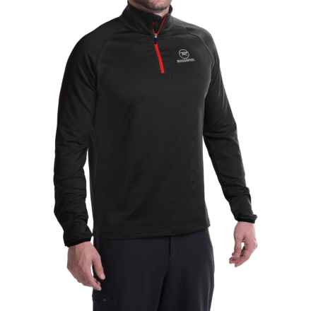 Rossignol Warm Stretch Pullover Shirt - Long Sleeve (For Men) in Black - Closeouts