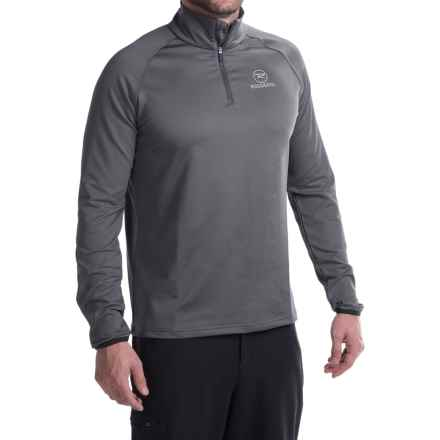 Rossignol Warm Stretch Pullover Shirt - Long Sleeve (For Men) in Cold Grey - Closeouts