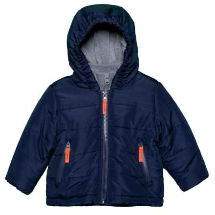 Rothschild Puffer Jacket (For Infant Boys) in Navy - Closeouts